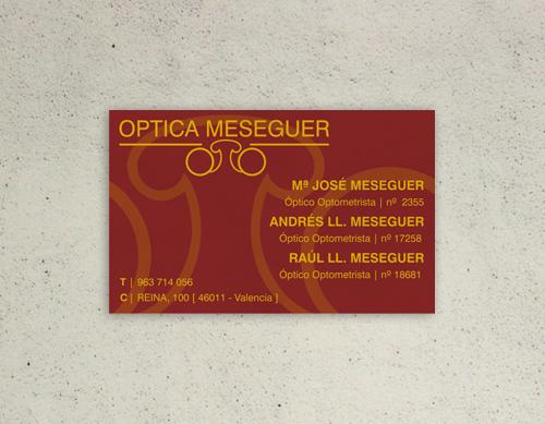 nuink tarjeta optica meseguer